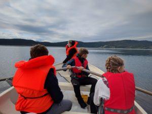 Krabbefiske i Grytafjorden